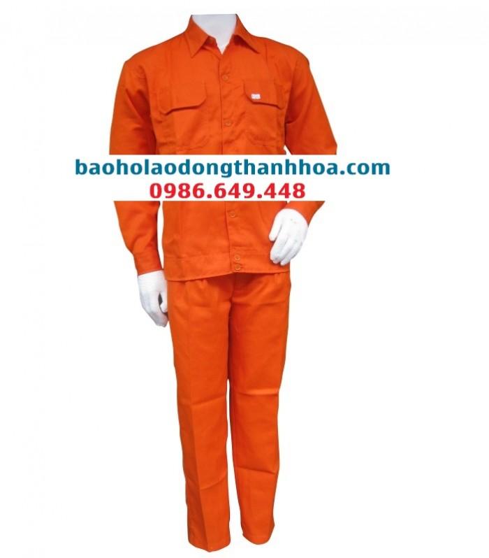 Mẫu Quần áo bảo hộ tại Thanh Hoá