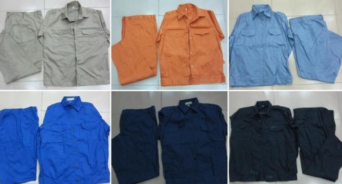 Bán các loại quần áo bảo hộ lao động ở Thanh Hoá